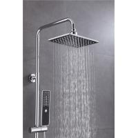 Quality Lead Free Bath Shower Accessories Spray Liftable Faucet Set Chrome Plated for sale
