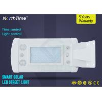Buy cheap Lithium Battery PIR Motion Wireless Solar Powered LED Street Lights 6500k IP65 from wholesalers