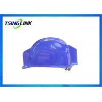 Wholesale H.264 Coding Head Protective 4G Wireless Device With 1080P Resolution Camera Lamp from china suppliers