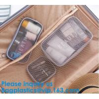 Wholesale Women Mesh Bag Travel Cosmetic Bag Makeup Case Pouch,Organizer Purse Necessary Mesh Cosmetic Bag Women Make Up Bag Makeu from china suppliers