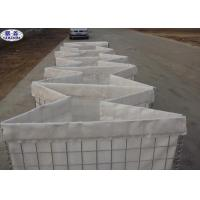China Beige Color  Military Sand Filled Barriers Easy Installation Simple Disassembly for sale