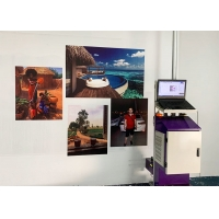Buy cheap Micro Piezoelectric 120w 24㎡/h 400ml ink Vertical Wall Printer from wholesalers