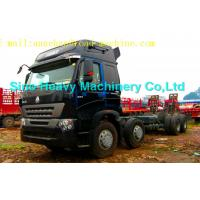 Wholesale SINOTRUK HOWO A7 8x4 Box Stake Truck/Cargo Truck 336hp from china suppliers
