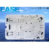 Wholesale European Design Acrylic Whirlpool Massage Swimming Outdoor Bathtubs with 3 x 3h Jet Pump from china suppliers