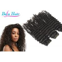 Wholesale Healthy Black / Copper Red / Purple Grade 6a Virgin Hair Deep Curl Brazilian Hair Weft from china suppliers