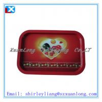 Wholesale rectangle tin tray/size 250X210X15MM from china suppliers
