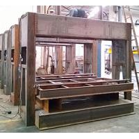 Wholesale Wood Board Hydraulic Platen Press Wood Processing Equipment With Max Opening 1500MM from china suppliers