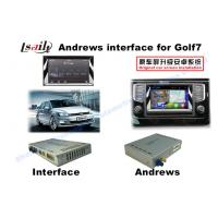 China Upgrade Car Video Interface HD Multimedia Android GPS Navigation Box for VW Golf 7 on sale