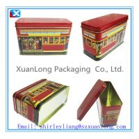 Wholesale Rectangle Metal cookie tins with low price from china suppliers
