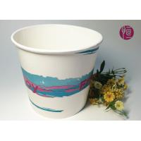 Wholesale 85oz 300gsm Double PE Paper Popcorn Buckets/Tub Food Grade Logo Print from china suppliers