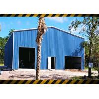 China Prefab Light Steel Structure Frame Workshop Building Kits Environmentally Friendly for sale