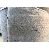 Wholesale Grey Felt Backed Carpet Underlay Laying Cloth with Spunlace Coated from china suppliers