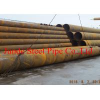 Buy cheap Helix Submerged Arc Welding pipe API 5L PSL2 with size of 1220mm x 25mm with CE ,ISO ,PED certificate Sewage treatment from wholesalers