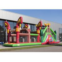 Wholesale Customized Cow Boy Run Huge Inflatable Obstacle Course For Teenagers from china suppliers