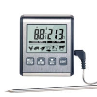 China Stainless Steel 304 Household Digital Food Thermometer on sale
