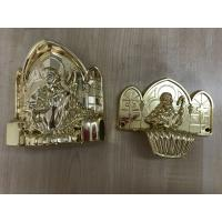 Wholesale PP new material casket accessories corner coffin furniture corner22# gold silver Or Copper from china suppliers
