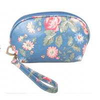 Wholesale Custom PVC Leather Cosmetic Bag ,  SGS Stylish Makeup Bag For Girls from china suppliers