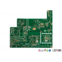 Wholesale 2 Layers OSP 94V0 High TG PCB Board For Industrial Control Green Ink 206 * 184 MM from china suppliers
