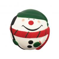 Wholesale Slow Rising Santa Clause Snow Man Squeeze Stress Ball Christmas Squishy Toys from china suppliers