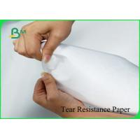 China 1070D White Color Tear Resistance Paper Environmental Material For Fashion Bags for sale