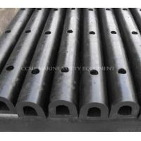 China D300H Marine D Dock Rubber Fender Suitable reaction force and energy absorption on sale