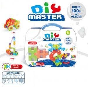 Wholesale Jr.Engineer Brain Blocks Building Set:Digital Puzzle Building STEM Educational Construction Toy 40 - Piece Set from china suppliers