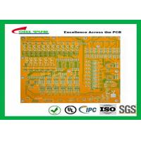 Wholesale Mortherboard Quick Turn Printed Circuit Boards  with Yellow Solder Mask FR4 1.6MM from china suppliers