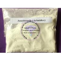Buy cheap Oral & Injectable Anabolic Steroid Hormones Anastrozole Arimidex For Bodybuilding Supplement from wholesalers