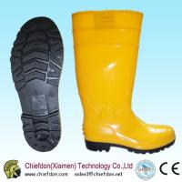 Wholesale safety yellow boot,yellow pvc boots,safety boots steel toe from china suppliers