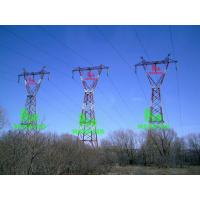 Wholesale 735KV Triple steel tower from china suppliers