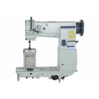 Wholesale Vertical Hook 1600RPM Post Bed Double Needle Sewing Machine from china suppliers