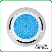 Quality IP68 Wall Mounted Extra Flat Resin Filled Led Underwater Light for Swimming Pool for sale