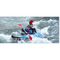 Wholesale 25cm Diameter Two Person Inflatable Kayak Double - Bladed Paddle With Transparent Window from china suppliers