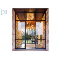 Wholesale Customized Aluminium Casement Door Combined Sunroom House ISO9001-2008 from china suppliers