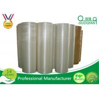 Wholesale 1280mm*4000m Bopp Jumbo Roll Tape Acrylic Crystal Clear for Carton Sealing from china suppliers