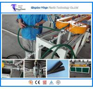 Single Wall Flexible Plastic Corrugated Conduit Pipe Making Machine Corrugated Tube Corrugator Machine