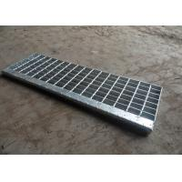 Wholesale Hot Dip Galvanised Stair Treads, T1 / T2 / T3 / T4 Bar Grating Stair Treads from china suppliers