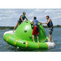 Wholesale Outdoor Rolling Inflatable Saturn Rocker 3.5m Diameter Stable Welding Temperature from china suppliers