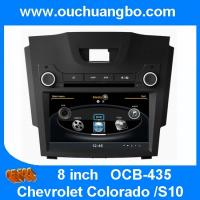 Wholesale Ouchangbo car DVD gps navi head unit Chevrolet Colorado S10 support DVR MPEG4 BT phonebook from china suppliers