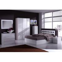 Wholesale Nice Looking White Bed+Dresser+Wardrobe from china suppliers