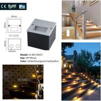 Buy cheap Square Shape 5730SMD Recessed LED Wall For Stair Lights Indoor / Outdoor Step from Wholesalers