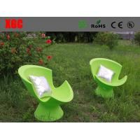 Wholesale Green Color LED Light Sofa Leisure Style For Reading Room / Coffee Shops from china suppliers