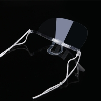 Wholesale Clear ABS PET Hygiene Face Mask For Reception Staff from china suppliers