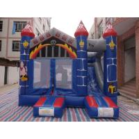 Wholesale 0.55mm PVC Castle Bounce House / Jumpy Houses With Slide CE Certification from china suppliers
