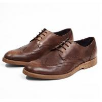 Buy cheap Comfortable Derby Mens Leather Casual Shoes , Breathable Soft Sole Shoes For from wholesalers