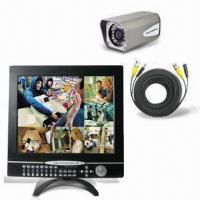 Wholesale All-in-one 17-inch 8CH Integrated CCTV Monitor with Easy PTZ Camera Controlled by Front Panel Button from china suppliers
