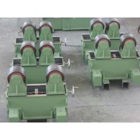 Buy cheap Auto Pipe Welding Rotator 5t With Rubber Wheel Have Two Motors Drive Pipe Rolling from wholesalers