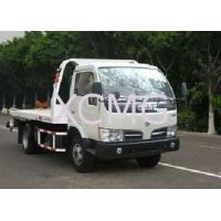 Wholesale Durable 6 Tons Wrecker Tow Truck , Flatbed Breakdown Recovery Truck For Rescue Conditions from china suppliers
