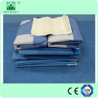 Buy cheap EO Steriled Disposable Drape Sheet Hip Drape surgical drape pack from Wholesalers