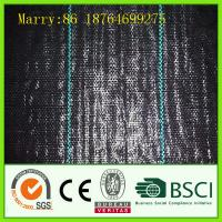 China black pp woven weed control fabric on sale